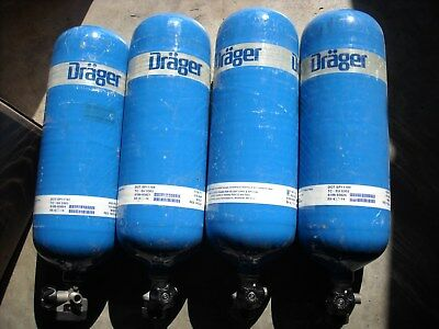 Drager 60 Minute 88 Cubic Feet 4500 psi Carbon Tank Cylinder Manufactured 03-14