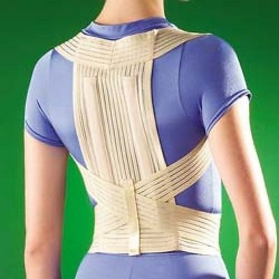 OPPO 2275 POSTURE BRACE SUPPORT Clavicle Thoracic Spine osteoporosis back Pain