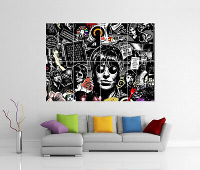 Oasis Liam & Noel Gallagher Giant Wall Art Dd4 Print Poster