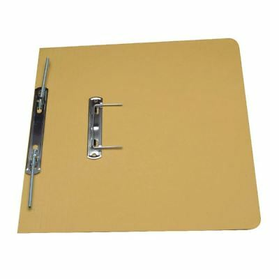 Guildhall Yellow Foolscap Heavyweight Spiral File (Pack of 25) [GH23043]