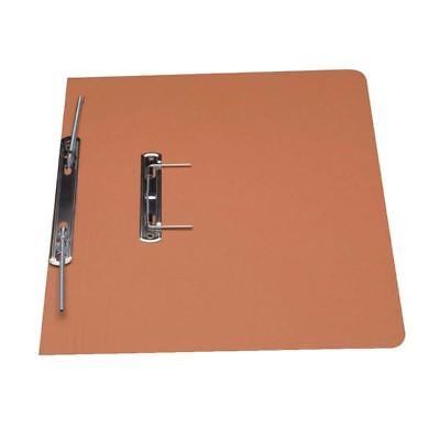 Guildhall Orange Foolscap Heavyweight Spiral File (Pack of 25) [GH23044]
