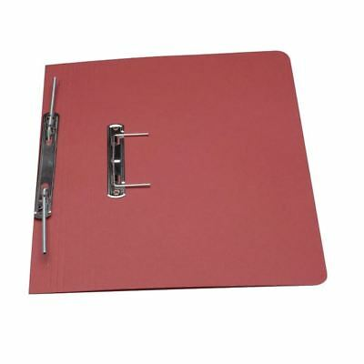 Guildhall Red Foolscap Heavyweight Spiral File (Pack of 25) [GH23045]