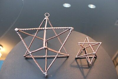 Merkaba Star Tensor Ring Pendant or Hanging Device Ascension Tool Meditation