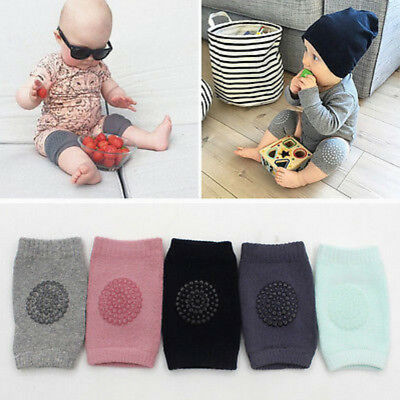 Infants Baby Safety Anti-slip Elbow Crawling Knee Breathable Warmer Protector