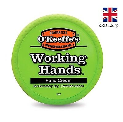 O'Keeffe's WORKING HANDS HAND CREAM Cracked Split Skin Non-Greasy Keefes Tub UK
