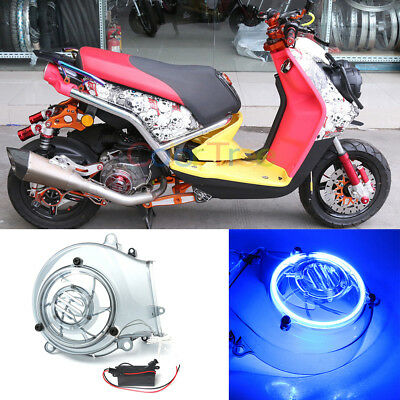 Motorcycle Plastic Fan Guard Decoration With Light For Yamaha BWS 125 2006-2015
