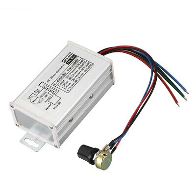 Home Improvement New 12v 24v 20a Max Motors & Parts Pwm Dc Motor Stepless Variable Speed Controller 25khz Switch Popular