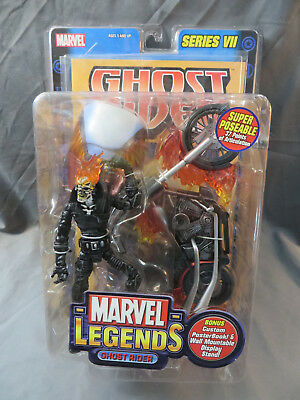 ToyBiz Marvel Legends Series VII Ghost Rider MOC 2004 6""