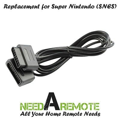 Game Controller Extension 6 Foot Cable Cord for Original Super Nintendo SNES