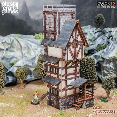 ColorED Scenery: Scholar's Tower