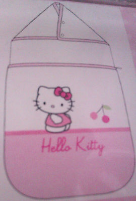 """""""HELLO KITTY"""" NID D'ANGE - COCCINELLE - 0 A 6 MOIS - Rose/Blanc - Neuf Emballé"""