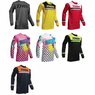 2019 Thor MX Mens Pulse Motocross Racewear Dirt Bike Jersey - Pick Size/Color