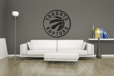 Huge NBA Toronto Raptors Basketball Vinyl Sticker Decal Wall Art  / Man Cave