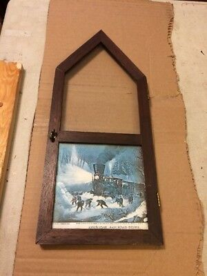 Gilbert Cathedral Steeple Mantle Clock Front Door