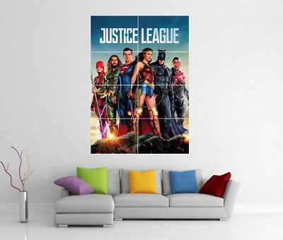 BUY 2 GET ANY 2 FREE JUSTICE LEAGUE POSTER PHOTO PICTURE PRINT A4 A3 SIZE