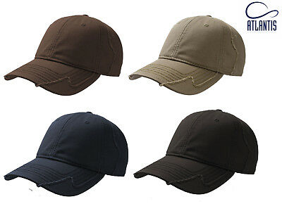 ATLANTIS USA CAP ARMY CADET RIP-STOP COTTON BASEBALL MILITARY HAT