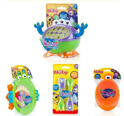 i Monster Full Range: Cup, Plate, Snack Keeper, Bowl, Cutlery (6-12 months plus)
