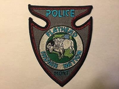 Flathead MONTANA Indian Nation Police Patch