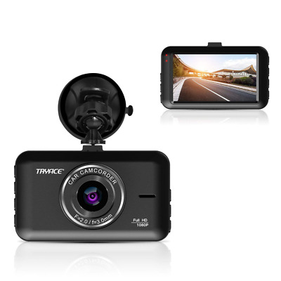Dash Cam LCD Screen Parking Mode, WDR, G-Sensor, Loop Recording Motion Detection