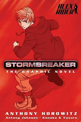 Stormbreaker: The Graphic Novel by Anthony Horowitz (English) Paperback Book Fre