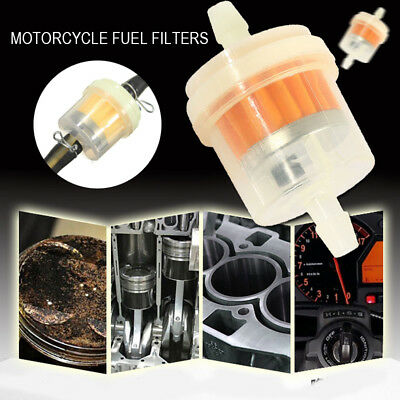 Universal Durable 6mm Plastic Moped Scooter Motorcycle Dirt Bike Filter