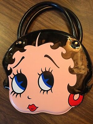 1994 Betty Boop Black Vinyl Purse by King Features Syndicate new w/o tags