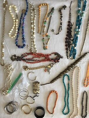 Vintage And Costume Jewelry Lot 100+ Pieces From Estate Of 103 Year Old Woman