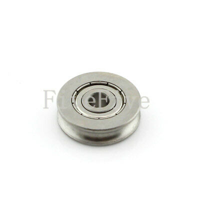 6x25x7mm 626ZZ U Groove Guide pulley 440c Stainless Steel Metal Ball Bearing