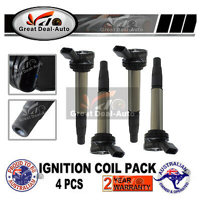 4Pcs for Toyota Corolla Prius Lexus CT200h 2ZR-FXE 2ZR-FE 1.8L Ignition Coil
