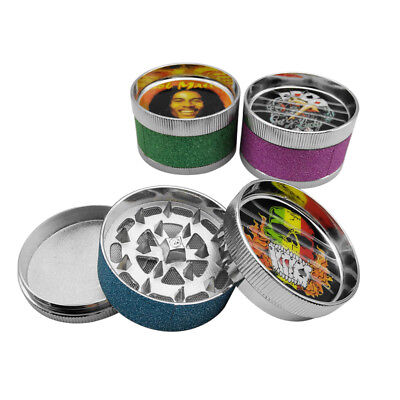 New Handsome Boy Pattern 3 Layers Herb Grinder Smoke Accessory