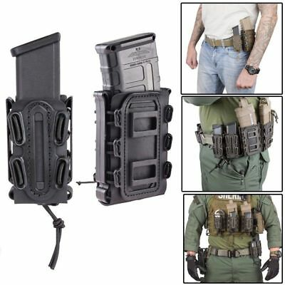 Tactical Soft Shell Scorpion Rifle / Pistol Mag Carrier Magzine Pouch Holder LF