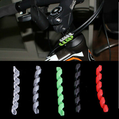 5x Protection Bike Bicycle Cable Protector Shift Brake Line Pipe Sleeve Surprise