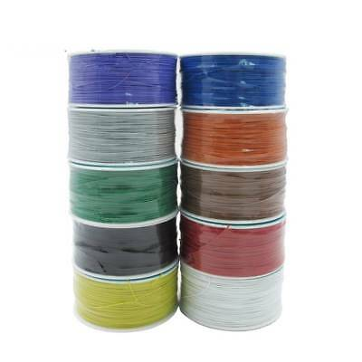 Copper OK Wire Wrap 250 Meters Wrapping Wire 10 Colors Electrical Wire PCB Wire