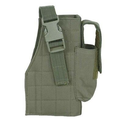 Voodoo Tactical 25-0029004001 Tactical Molle Pistol Holster w/Mag Pouch RH