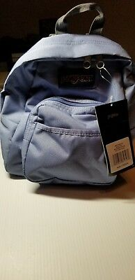 JANSPORT HALF PINT Mini Backpack Bleached Denim Blue -  22.99  a008d7d2dc73b