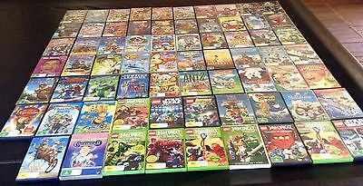 Bulk Lot 69 Children Dvd Movies Lego Transformer Ninja Excellent Condition Able