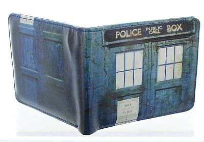 Doctor Who Distressed TARDIS Bi-Fold Wallet (y0m)