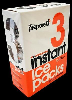 d3 Instant Ice Packs (pack of 3) - First Aid, Injury Aid