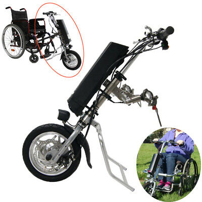 36V 250W Electrique Tractor Handcycle Bike Attachment Wheelchairs With batterie