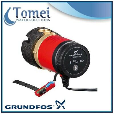 GRUNDFOS Hot water recirculation COMFORT PM Autoadapt 15-14BA 8W 1x230V 80mm