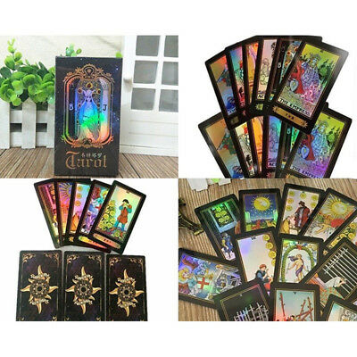 Tarot Cards Deck High Quality Printing Playing Vintage Colorful Card Box Game YK