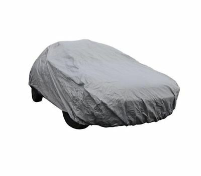 100%Waterproof And UV-Resistant Medium Full Car Cover Breathable Indoor Outdoor