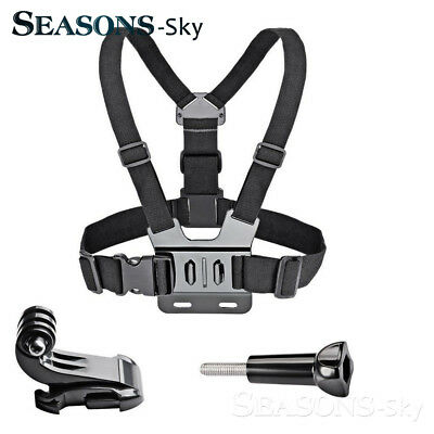Adjustable Chest Body Strap Belt Mount Harness For GoPro Hero 2 3 3+ 4 5 6Camera
