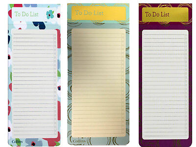 To Do List Slim Pad With Magnetic Back for Fridge Hanging 100 Sheets Notepad