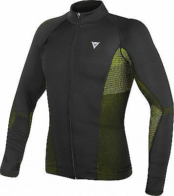 Dainese D-Core No-Wind Dry Tee - Blk/F.Yel - XL/XXL - Was £89.95