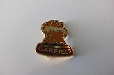 Garfield enameled metal pin Kat's Meow 1978 Emailliert Metall Brosche