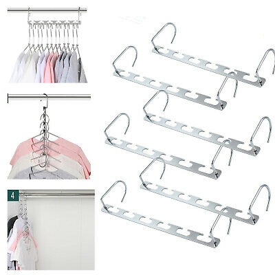 6X Stainless Steel Round Wall Mount Shower Robe Towel Hooks Coat Holders Hangers