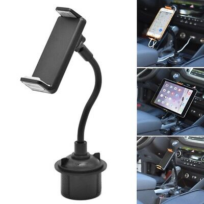 360˚ Rotation Car Cup Mount Holder Stand For 4-11 inch Mobile Phone Tablet PC