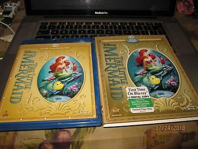 The Little Mermaid (Two-Disc Diamond Edition: Blu-ray/Dvd/Digital code W/SLEEVE)