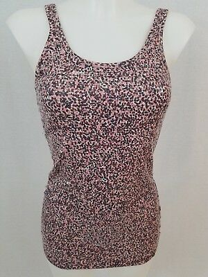 NWT Armani Exchange Womens multi color Tank Top Front with Sequin Size XSmall XS